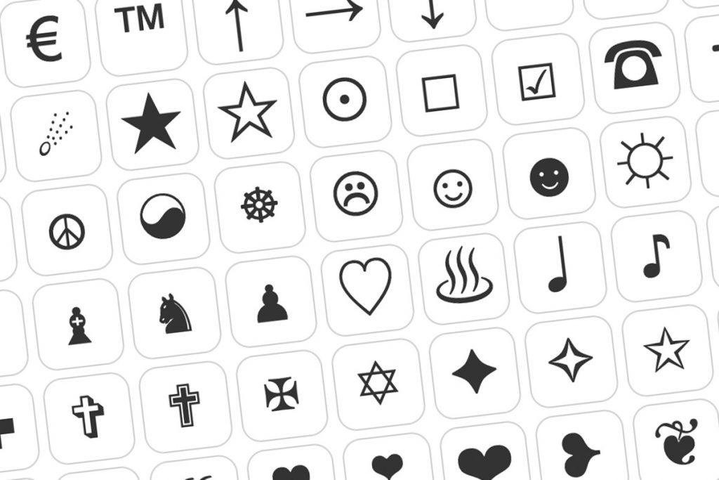 Símbolos y signos