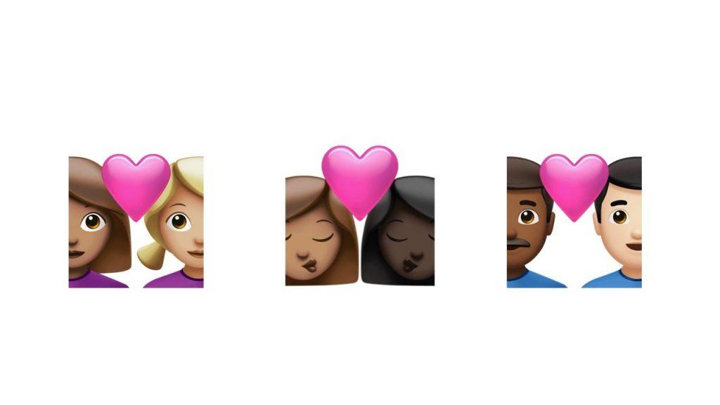 emojis de parejas